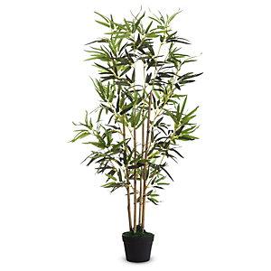 Paperflow Pianta artificiale Bamboo, Altezza 120 cm
