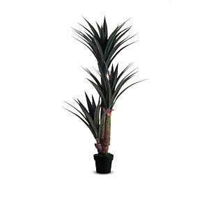 Paperflow Pianta artificiale Yucca, Altezza 155 cm