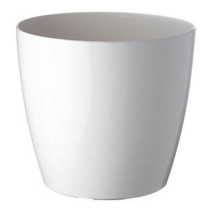 Paperflow Pot de fleurs San Remo, diamètre 25 cm - Blanc