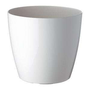 PAPERFLOW Pot de fleurs San Remo, diamètre 30 cm - Blanc