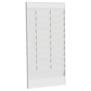 Paperflow Tableau planning pour documents A4, élément départ 20 cases - Gris