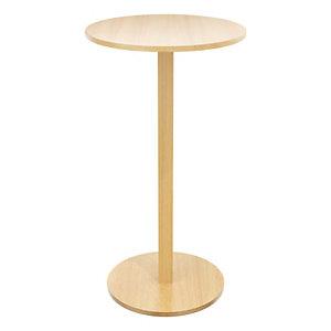 Paperflow Tavolino per angolo ristoro, Ø 60 x 110 cm, Faggio