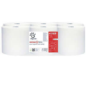 PAPERNET Asciugamani in rotolo Autocut Defend Tech - 115 mt - con formula antibatterica - Papernet
