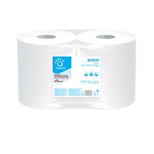 PAPERNET Carta igienica Maxi Jumbo - 2 veli - 15,5 gr - diametro 26,7 cm - 9,5 cm x 371,5 mt - Papernet