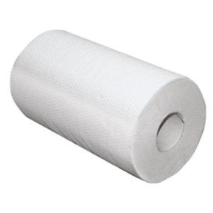PAPERNET Rotolo di asciugamani di carta per dispenser, 2 veli, 210 fogli, 234 mm, Bianco (confezione 12 rotoli)
