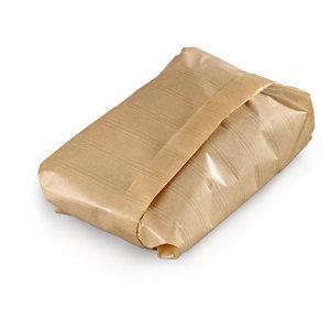 Papier alimentaire kraft brun en paquet