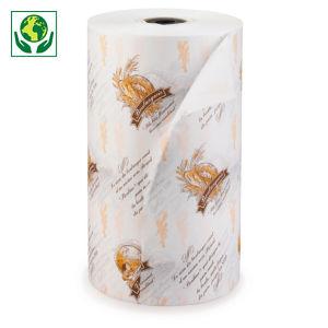 Papier alimentaire mousseline imprimé en bobine