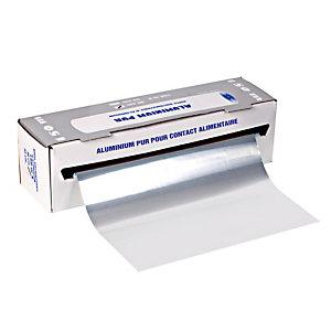 Papier aluminium en rouleau de 150 m x 30 cm, l'unité