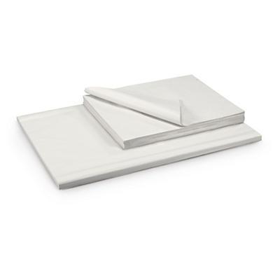 Papier blanc en feuille