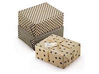 Papier cadeau 100 % recyclé Retro