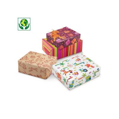 Papier cadeau FUN##Cadeaupapier FUN