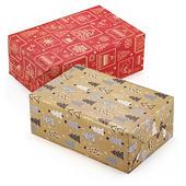 Papier cadeau Laponie