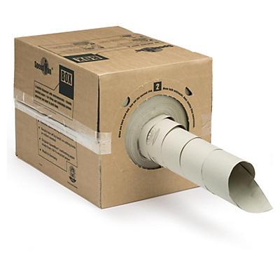 Papier de calage en boîte distributrice##Knüllpapier in der Spenderbox