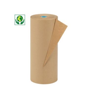 Papier d'emballage brun, qualité industrielle 90 g/m²