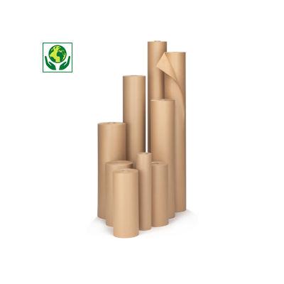 Papier d'emballage brun en rouleau, qualité standard 70 g/m²