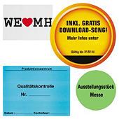 Papier-Etiketten, personalisiert