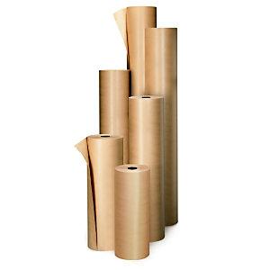 Papier kraft naturel 70 g/m² en rouleau 1 m x 100 m - Marron