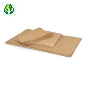 Papier kraft naturel en feuille Super RAJA