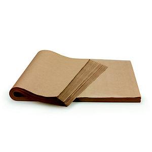 Papier kraft naturel Super 70 g/m² - Ramette de 250 feuilles 65 x 100 cm - Marron