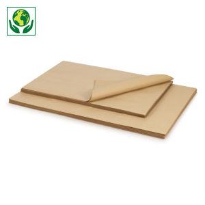 Papier kraft recyclé Eco Qualité standard 70 g/m² en feuille RAJA