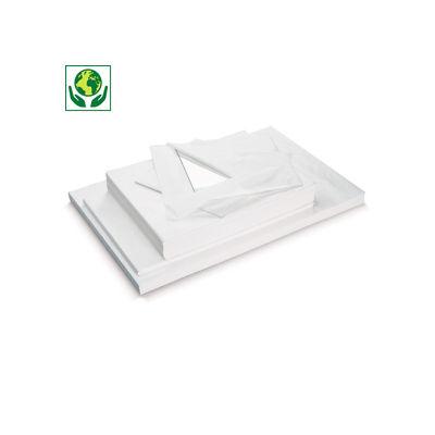 Papier de soie blanc en rame ou en rouleau