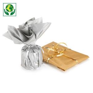 Papier de soie en rame or/argent RAJA