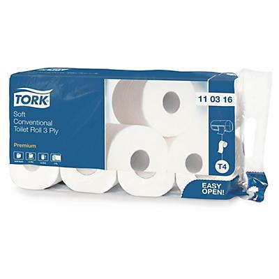 Papier toilette 3 plis extra-doux TORK