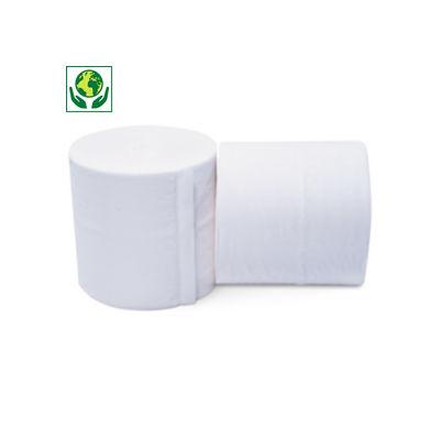 Papier toilette compact sans mandrin