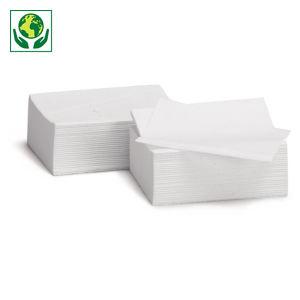 Papier toilette en paquet