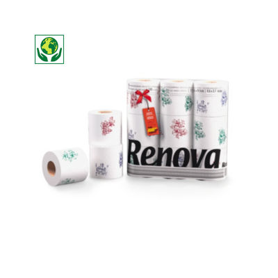 Papier toilette Renova design