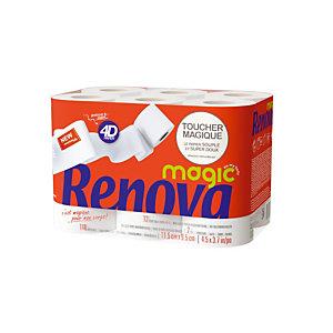 Papier toilette Renova MAGIC, 48 rouleaux