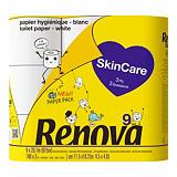 Papier toilette Renova Skincare, colis de 9 rouleaux