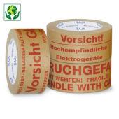 Papier-Warnbänder mit Standardaufdruck