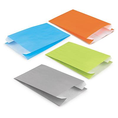 Papierbeutel in frischen Farben - RESTPOSTEN