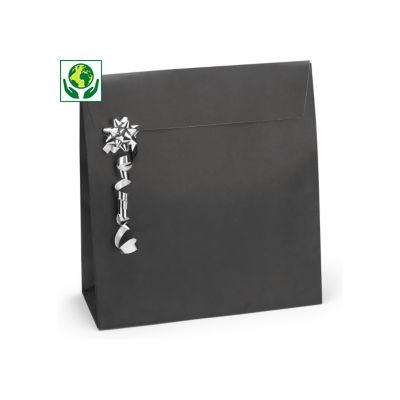 Papiertasche mit Haftklebeverschluss
