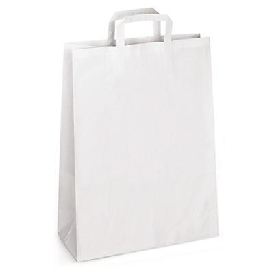Papiertragetaschen mit angeklebten Henkeln ab 3000 Stück