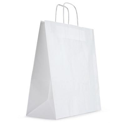 Sacs kraft à poignées torsadées personnalisé par 3000 sacs##Papiertragetaschen mit angeklebten Henkeln ab 3000 Stück