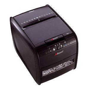 Papiervernietiger Rexel AUTO+ 60X meerdere gebruikers kruisversnijding
