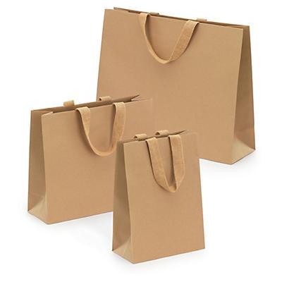Papírová taška s papírovými úchyty