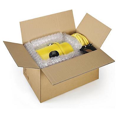 Papkasser i dobbelt bølgepap med automatbund