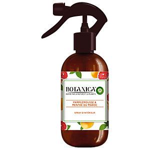 Parfum d'intérieur Botanica by Air Wick pamplemousse et menthe du Maroc, spray de 375 ml