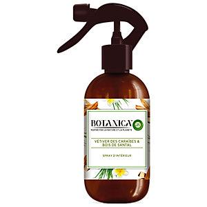Parfum d'intérieur Botanica by Air Wick Vétiver des Caraïbes et bois de santal, spray de 375 ml