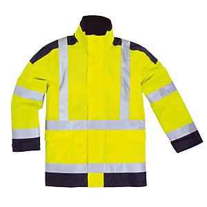 Parka haute visibilité jaune Delta Plus, taille XL