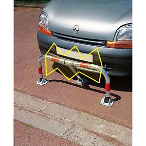 Parkeerhekje en schokdemper, met sleutel