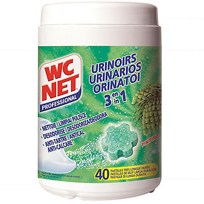 Pastille urinoir 3 en 1 WC NET