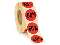 Pastilles fluo -50 %