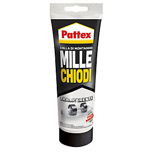 PATTEX Adesivo Pattex  MilleChiodi Trasparente - 200 gr - Pattex