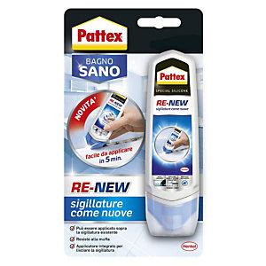 Pattex Bagno Sano Re-New Silicone pronto all'uso