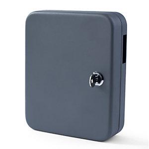 Pavo Armoire à clés - Capacité 20 clés - Coffret gris foncé