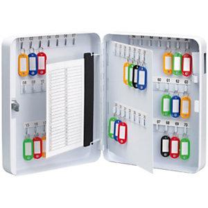 Pavo Armoire à clés - Capacité 70 clés - Coffret blanc